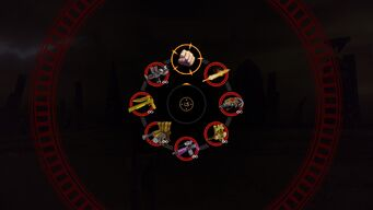 7 Deadly Weapons - weapon wheel