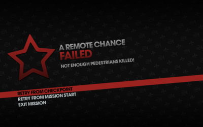 A Remote Chance failed - kill more