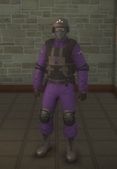 Gang Customization - Bodyguards - male soldier 2 - black