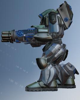 Mech suit character model - left in Saints Row IV