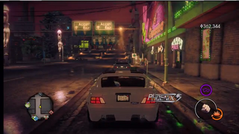 Phoenix - rear with logo in Saints Row IV