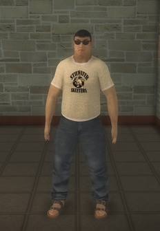 Sportsfan - sportsfan asian - character model in Saints Row 2