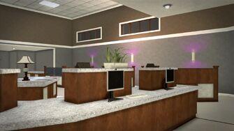 Stilwater Savings & Loan - interior behind counters
