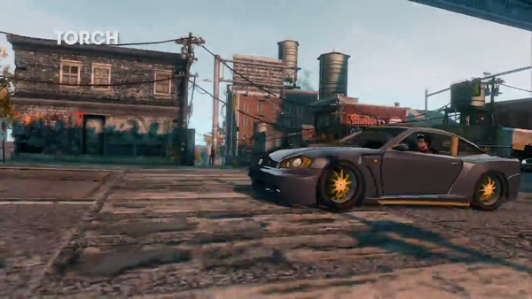 Torch - front left in Saints Row - The Third - Vehicular Improvements trailer