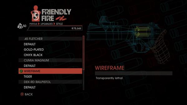 Weapon - Pistols - Heavy Pistol - Cumia Magnum - Wireframe