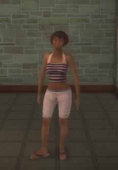 Beach female - black generic - character model in Saints Row 2
