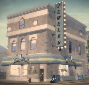 Bling Bling store in Saints Row 2