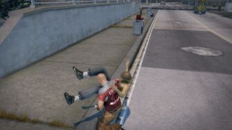 Brotherhood Fighting Style - Side Slam Backbreaker before