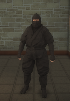 Gang Customization - Ninjas - male lieutenant 2 - asian