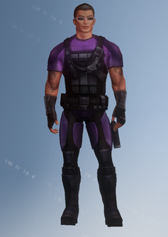 Johnny Gat - super powered - character model in Saints Row IV
