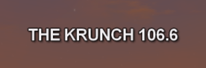 The Krunch 106.66 onscreen text