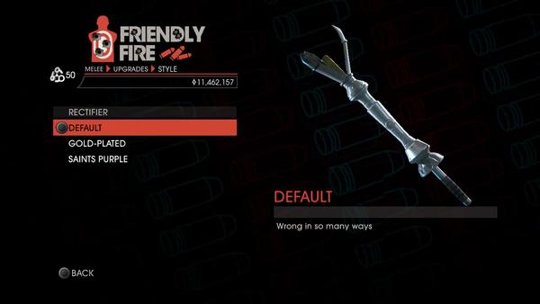 Weapon - Melee - Rectifier - Default