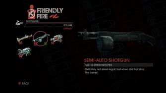 Weapon - Shotguns - Semi-Auto Shotgun - Main