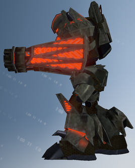 Zinyak mech left - character model in Saints Row IV