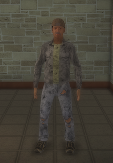 Bum - black male - character model in Saints Row 2