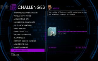 Challenge 47 Targets Abducted