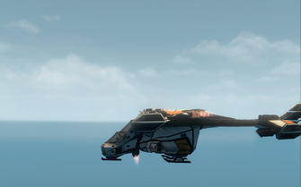 Condor - hover mode - left in Saints Row The Third