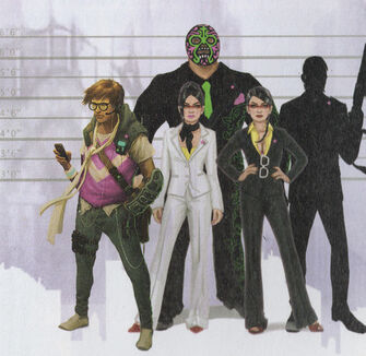 Matt Miller, Viola DeWynter, Kiki DeWynter, and Killbane scan from the Game Guide
