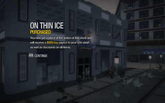 On Thin Ice in Imperial Square purchased in Saints Row 2