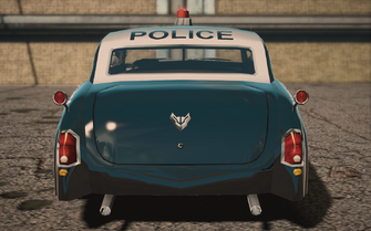 Saints Row IV variants - Gunslingerp Police - rear