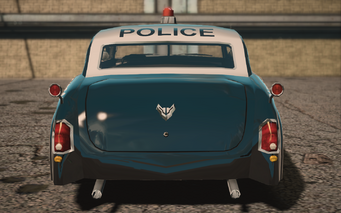 Saints Row IV variants - Gunslingerp Police - rear