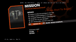 Saints Row Money Shot Mission objectives - Vertical Refreshment