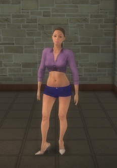 Stripper female - white generic - character model in Saints Row 2