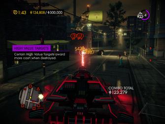 Tank Mayhem - High Value Targets tutorial in Saints Row IV