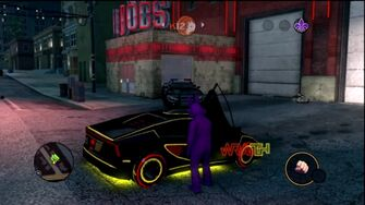 Wraith - rear right with logo in Saints Row The Third