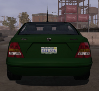 Zircon - rear in Saints Row