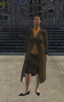 MiddleAge female 02 - asian - character model in Saints Row