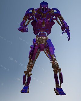 Murderbot saint character model in Saints Row IV