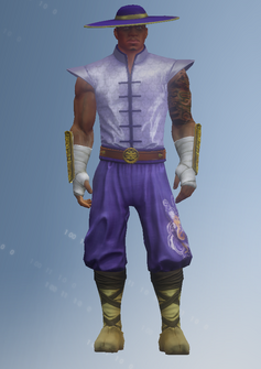 Pierce - super powered - character model in Saints Row IV
