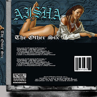 Aisha - The Other Six CD back cover