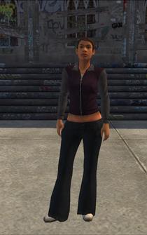 Chop Shop - Jenny - character model in Saints Row