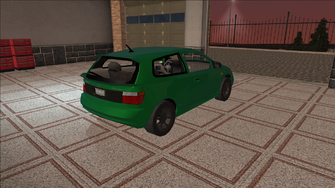 Saints Row variants - Mockingbird - Racer 01 - rear right