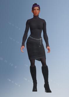 Viola - character model in Saints Row IV