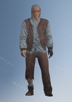 Bum - Howarda - character model in Saints Row IV