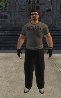 Escort - Bruno - character model in Saints Row