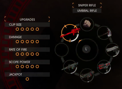 GOOH halloween livestream - Weapon - Sniper Rifle - Umbral Rifle