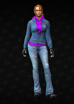 Kinzie - character model in Saints Row The Third