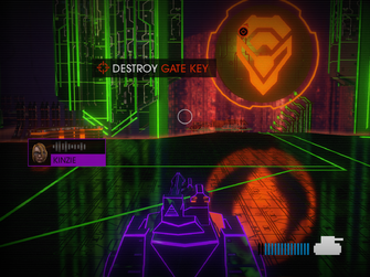 Miller-Space - Destroy Gate Key objective