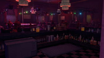 Technically Legal - interior bar