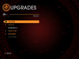 Upgrades in Saints Row: Gat out of Hell