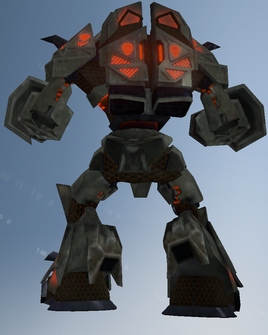 Zinyak mech rear - character model in Saints Row IV