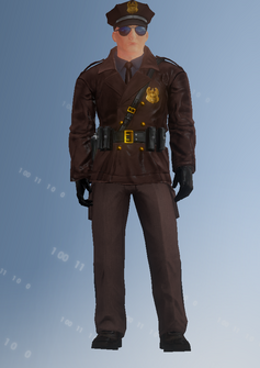 Cop - motorcycle - Alejandro - character model in Saints Row IV