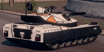 Crusader - Average variant - rear right in Saints Row The Third