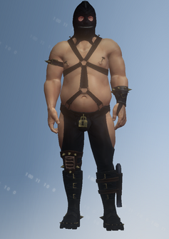 Dom the Dom - character model in Saints Row IV