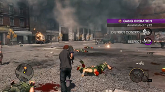 Gang Operation with different UI in Saints Row - The Third Open World Gameplay trailer
