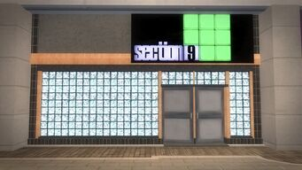 Rounds Square Shopping Center - section 9 storefront